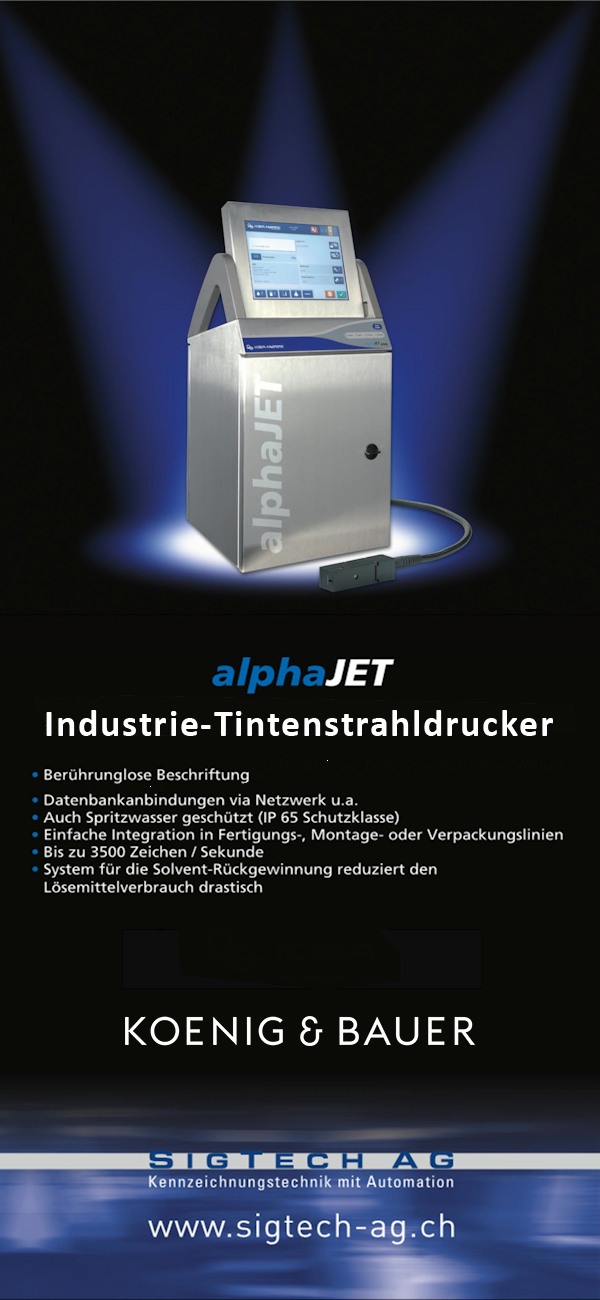 AlphaJET-Industriedrucker
