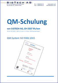 QM ISO 9001:2015 Schulung